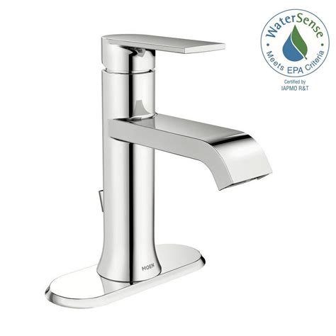 moen single handle bathroom faucet repair moen genta single single handle bathroom faucet in chrome ws84760 the home depot