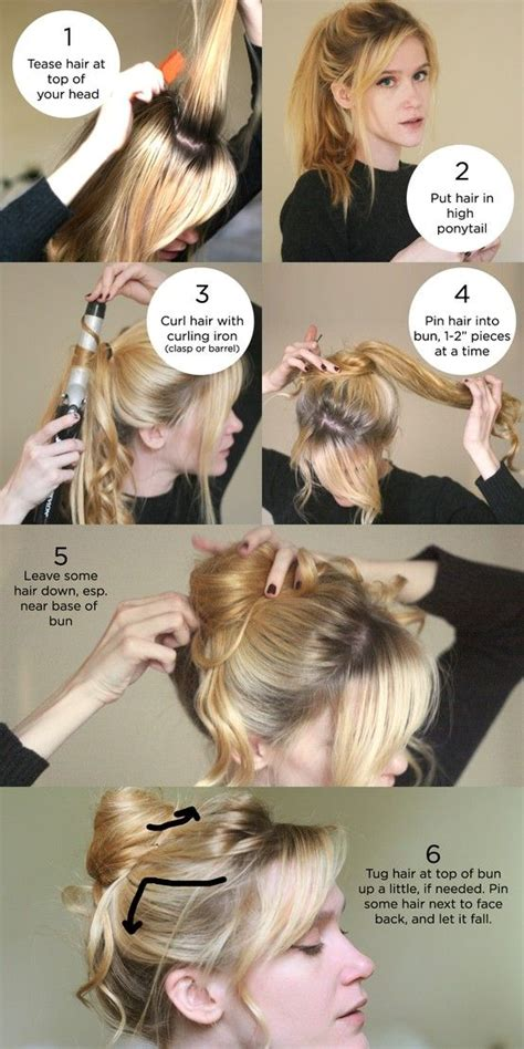 cool step by step hairstyles step by step hairstyle step by step hair styles pinterest