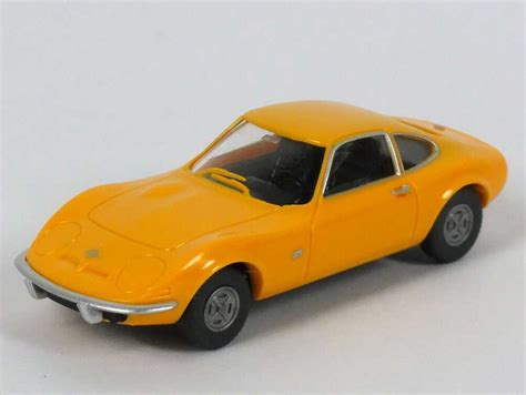 opel orange opel gt orange techno classica essen 2002 wiking 80402