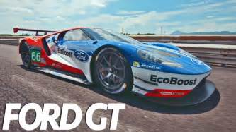 all new car racing the all new 2017 ford gt race car driving speed