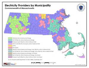 electric utility map massgis data utility service providers