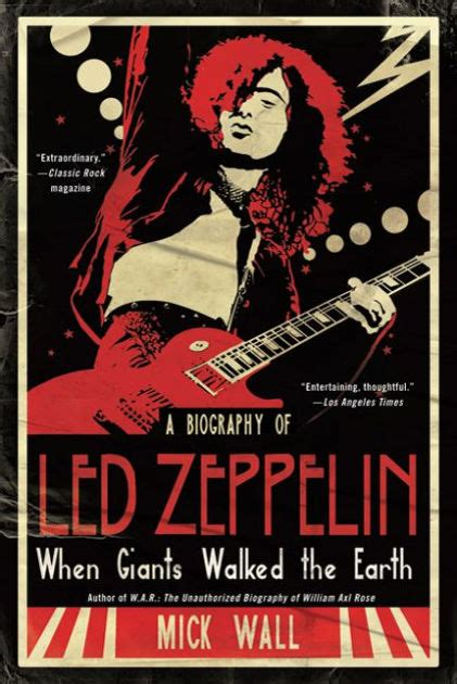 libro when giants walked the when giants walked the earth a biography of led zeppelin by mick wall hardcover barnes noble 174