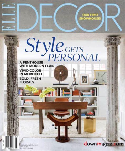 home decor magazines free download elle decor february march 2011 187 download pdf magazines