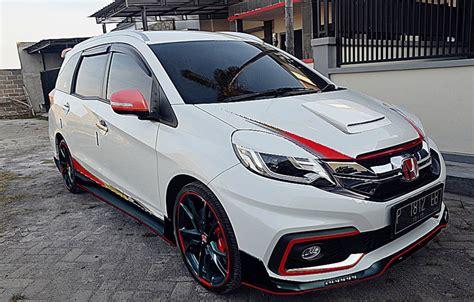 mobil honda mobilio kumpulan gambar modifikasi honda mobilio terbaru mobilmo com