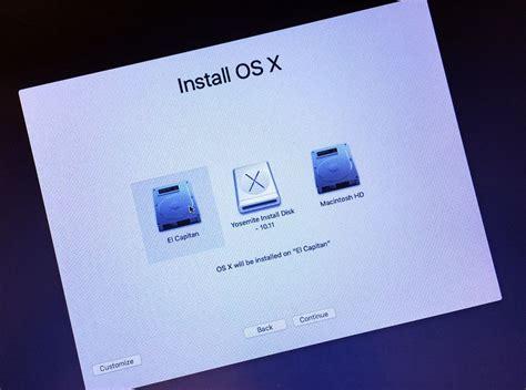 membuat usb bootable el capitan how to create a bootable install usb drive of mac os x 10