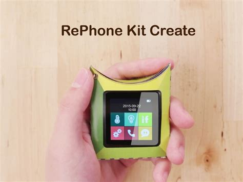 make your own phone make your own smartphone with the rephone kit liliputing