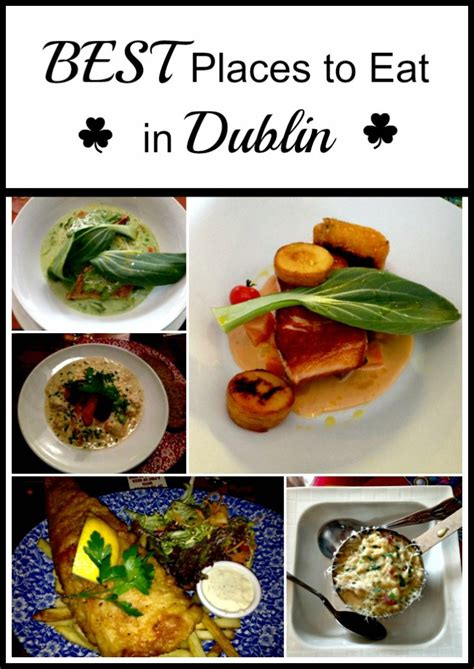 best place to eat on s day best places to eat in dublin
