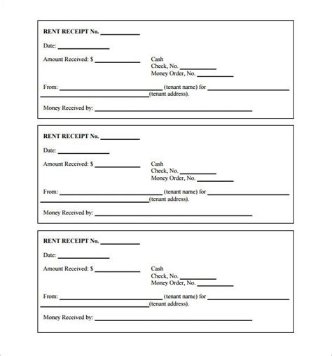 receipt of paperwork template printable receipt template receipt template doc for word