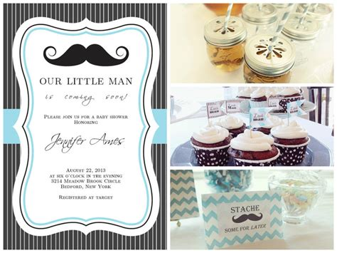 Mustache Baby Shower by Mustache Baby Shower Theme Real Baby Shower