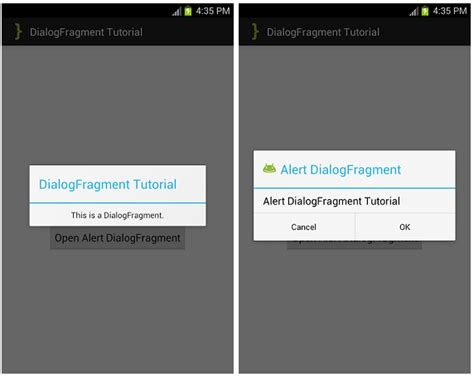 android dialog using dialogfragment not showing up android dialogfragment tutorial androidbegin