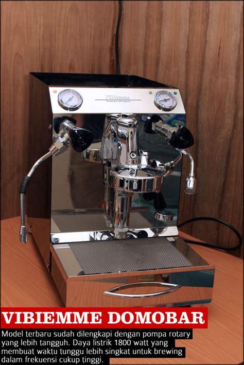 Mesin Kopi Vibiemme mesin espresso untuk warung kopi 2 cikopi