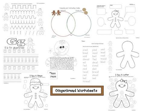 gingerbread math worksheets gingerbread worksheets school gingerbread