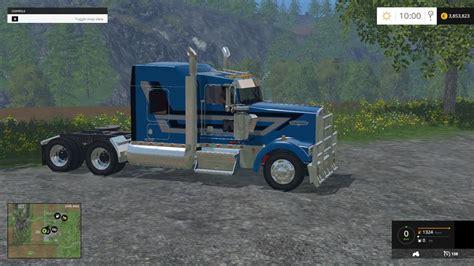 kenworth truck w900l kenworth w900l truck v1 0 mod mod download