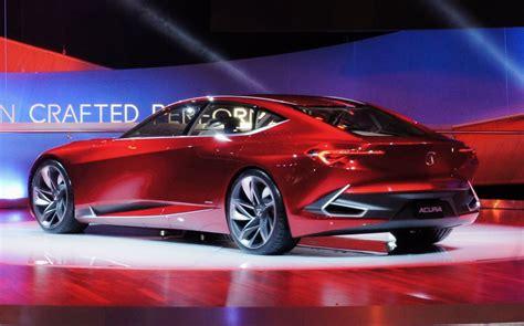 future models acura precision concept a design template for future