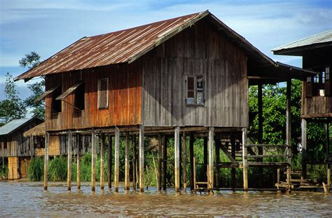 myanmar home design modern house on stilts modern house