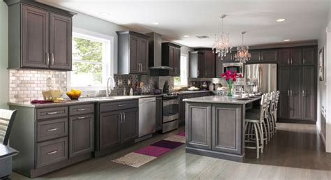 Grey Maple Kitchen Cabinets Remodeling A Kitchen Success Stories Masterbrand