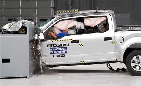difference between crew cab and extended cab ford f 150 crash testing results shows big difference