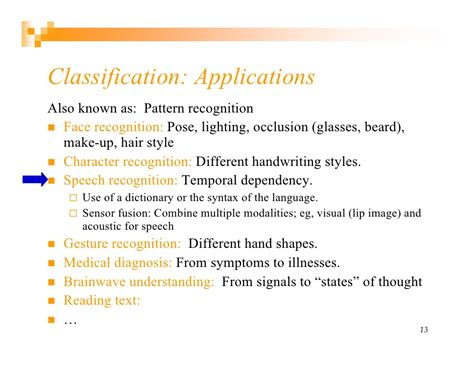 classification pattern in reading introduction to machine learning