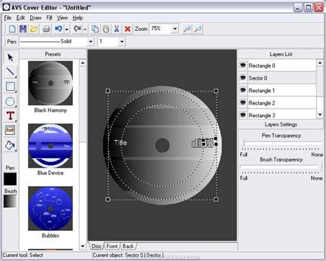 avs editor templates avs cover editor 2 0 1 3 free