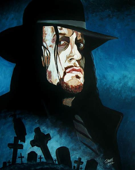 undertaker painting rest in peace painting by