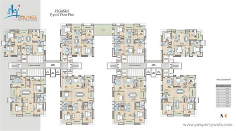 layout of polaris mall meenakshi sky lounge kondapur hyderabad apartment