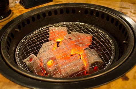japanese grill on table enjoying quot yakiniku quot japanese style bbq in japan jtbusa blog
