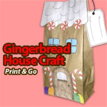 paper bag gingerbread house craft paper bag design gingerbread houses and craft papers on