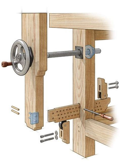 woodworking bench vise plans homemade leg vise google search woodworking workbench