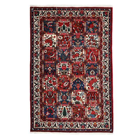Darya Rugs Authentic Red 4 Ft 6 In X 6 Ft 9 In Indoor 4 Ft Rugs