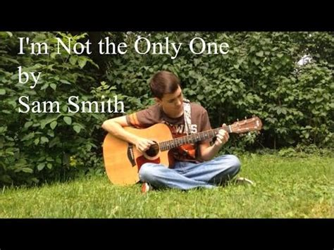 tutorial guitar i m not the only one i m not the only one by sam smith fingerstyle guitar
