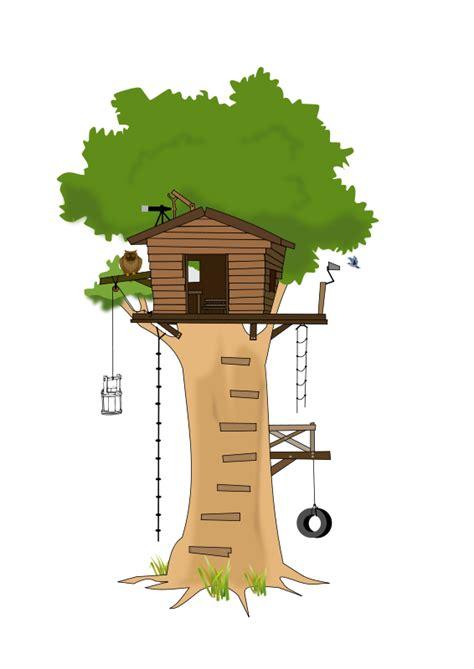 tree house clipart free tree house clip art