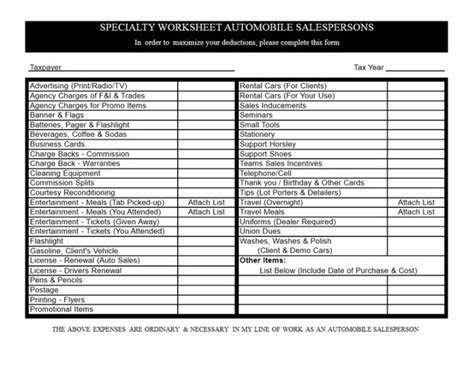 Tax Preparation Worksheet by Tax Preparation Worksheet Worksheets Releaseboard Free