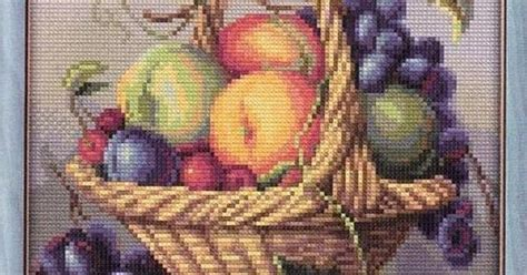 pictures 0f vegetables free graphics point cross bodegon fruits basket 0f
