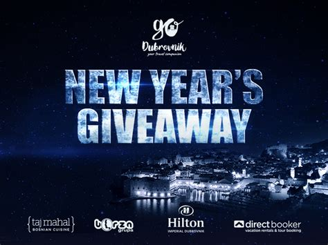 New Giveaways - go dubrovnik new year s giveaway new year in dubrovnik