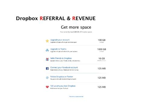 dropbox revenue growth hacking case studies to improve your funnel