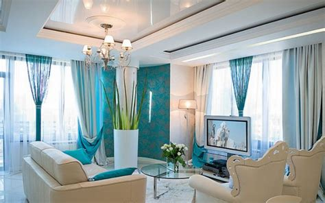 modern teal living room cool teal home decor for and summer