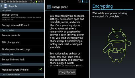 android encryption clean you android before selling speed test news
