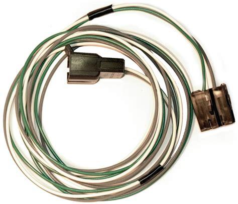 1980 1982 corvette wiring harness radio power antenna to relay corvetteparts