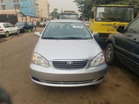 toyota foreigner toyota corolla 2005 foreign used autos nigeria
