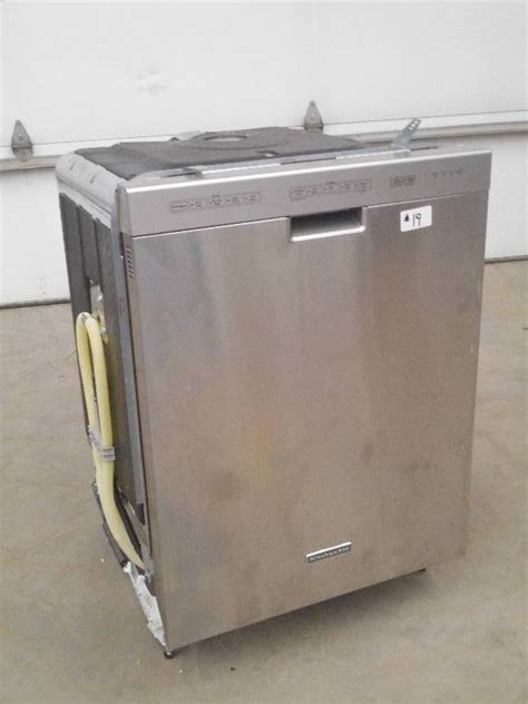 Kitchenaid Dishwasher Jet Le September Appliance Auction In Loretto Minnesota By