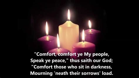 comfort ye quot comfort comfort ye my people quot lutheran service book 347