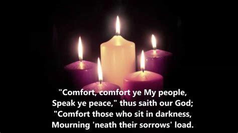 comfort ye my people quot comfort comfort ye my people quot lutheran service book 347