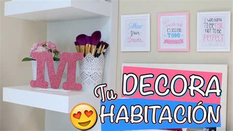 decorar tu habitacion diy diy f 193 ciles para decorar tu habitaci 211 n mirianny youtube