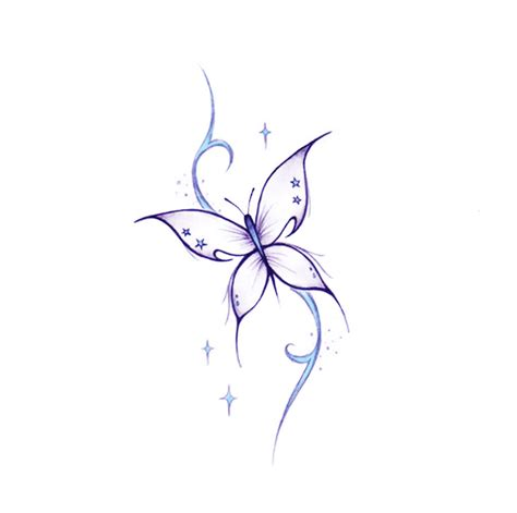 butterfly with stars tattoo designs butterfly tattoos designs ideas and meaning tattoos for you