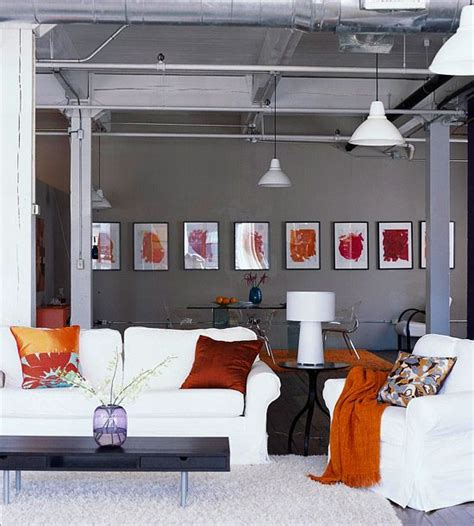 Orange And Grey Living Room by Orange Is The New Black Homedesignboard