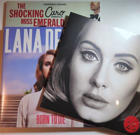 adele born to die adele lana del rey caro emerald ladies of pop lot of