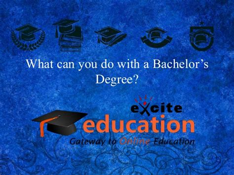 What Can U Do With An Mba Degree by What Can You Do With A Bachelor S Degree
