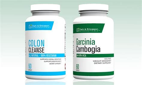 Asian Garcinia And Colon Detox by Clark Ericsson Supplements Groupon Goods