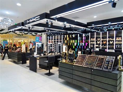 Make Up Shop recessed lighting stores nyc in mac cosmetics department