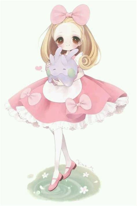 libro chibi girls a cute kawaii cute chibi dibujos ilustraciones y cuentos
